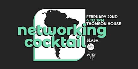 Networking Cocktail (LASO, SLASA & Maison des Amériques) tickets