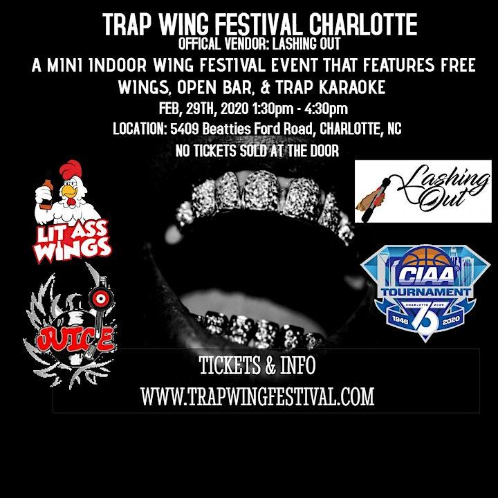 Trap Wing Festival Charlotte image