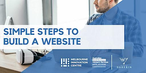 Simple Steps to Build a Website - Darebin