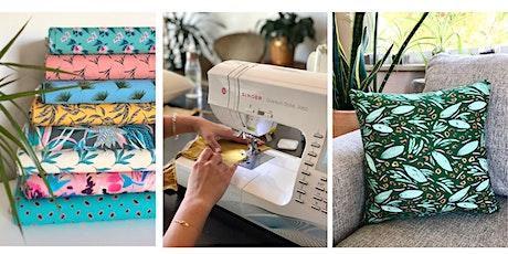 Pillow Talk: Beginner Sewing tickets