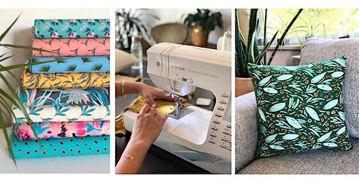 Pillow Talk: Beginner Sewing