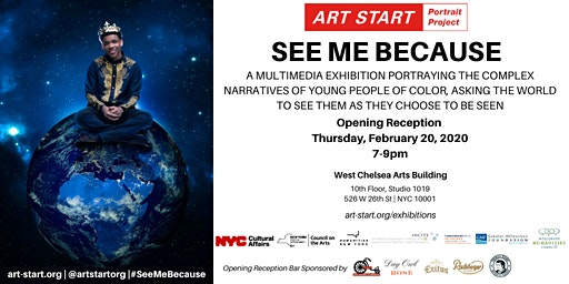 See Me Because: The Art Start Portrait Project Volume 7 - Opening Reception
