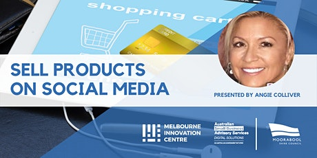 Sell Products on Social Media (Instagram + Facebook + Pinterest) - Moorabool tickets