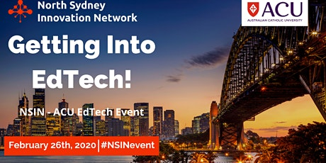 NSIN - ACU EdTech Event! In-Conversation Event with Jamie Engel tickets