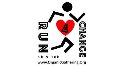 Run4Change (5k/10k  Run/Walk) tickets