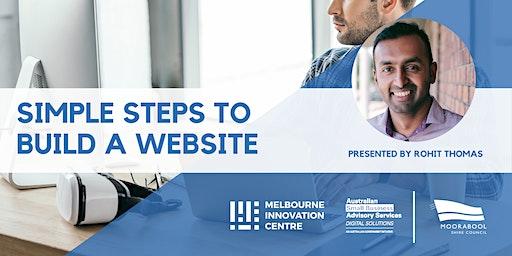 Simple Steps to Build a Website - Moorabool
