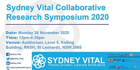 North Shore Cancer Research Showcase (Sydney Vital Symposium) tickets