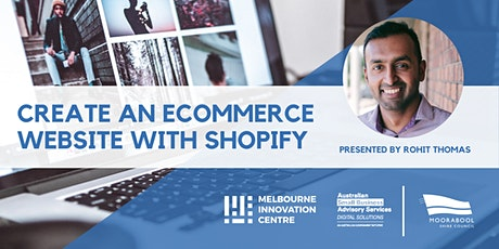 Create an Ecommerce Website with Shopify - Moorabool tickets
