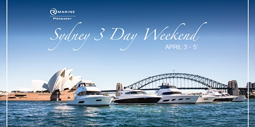 Sydney Harbour 3day Weekend