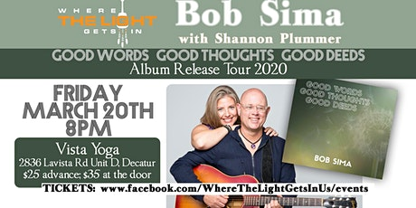 Atlanta GA: CD Release Concert at Vista Yoga tickets