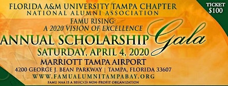 FAMU RISING: A 2020 Vision of Excellence Annual Scholarship Gala