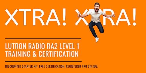 LUTRON Radio RA2 Level 1 Training & Certification (Ramsey, NJ)