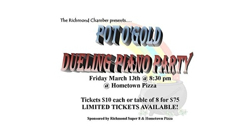 Pot O'Gold Dueling Piano Party