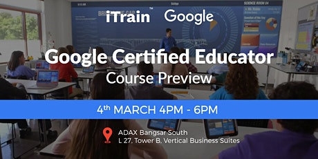 Google Certified Educator Course Preview tickets