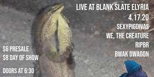 We, The Creature/Sexypigdivas/RIPBR/Bwak Dwagon