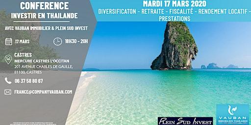 Conférence Investir en Thaïlande - Castres le 17 Mars 2020