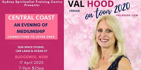 An Evening of Mediumship with Val Hood tickets