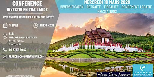 Conférence Investir en Thaïlande - Albi le 18 Mars
