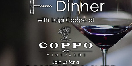 Piattino Coppo Wine Dinner tickets