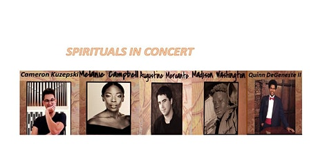 SPIRITUALS in CONCERT - Black History Month Celebration  tickets