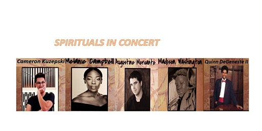 SPIRITUALS in CONCERT - Black History Month Celebration