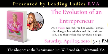 The Evolution of an Entrepreneur tickets