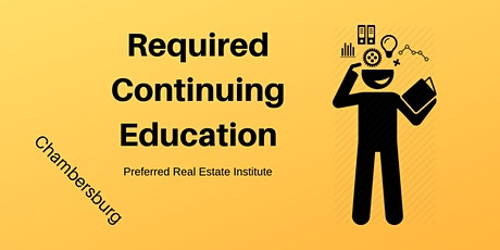 CE - Required Continuing Education Classes tickets