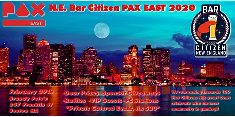 New England Bar Citizen: PAX East 2020  tickets