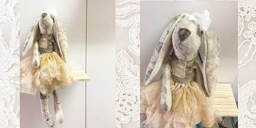 Textile Sculpture Workshop - Vintage Bunny for Easter