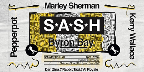 ★ SASH Byron ★ Pepperpot ★ Marley Sherman ★ Kerry Wallace ★ tickets