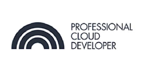 CCC-Professional Cloud Developer (PCD) 3 Days Virtual Live Training in Frankfurt tickets