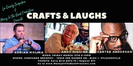 Crafts and Laughs @ Compadre Brewing tickets