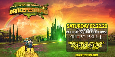 Dancefestopia - Tallahassee - Yellow Brick Road tour tickets