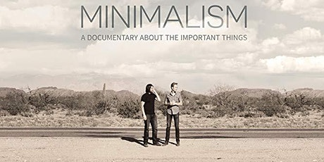 Minimalism - Film Night & Shared Community Dinner tickets