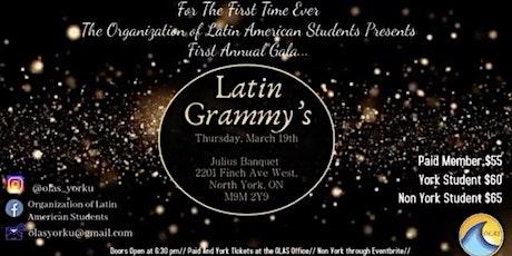 OLAS Gala * Latin Grammy Night* tickets