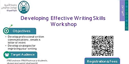 Effective Writing Skills Workshop