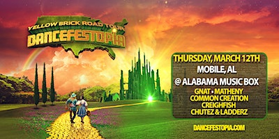 Dancefestopia - Mobile - Yellow Brick Road Tour