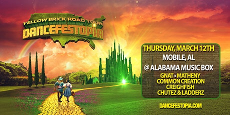 Dancefestopia - Mobile - Yellow Brick Road Tour tickets