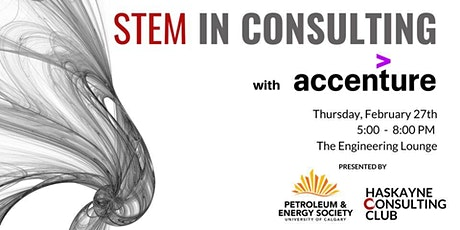 STEM in Consulting: Accenture Panel and Networking Event tickets