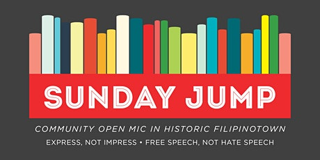 Sunday Jump: Community Open Mic Series tickets