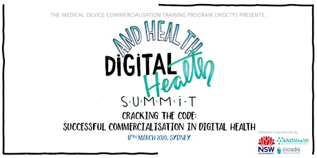 SUMMIT | Cracking the Code: Successful Commercialisation in Digital Health tickets