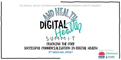 SUMMIT | Cracking the Code: Successful Commercialisation in Digital Health