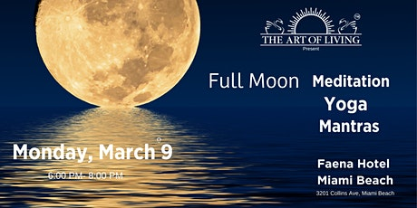 Full Moon : Yoga - Meditation - Mantras tickets