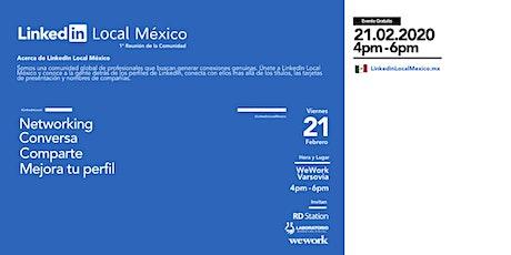 Linkedin Local México - Febrero 2020 boletos