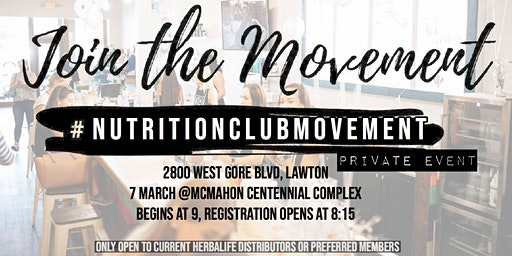 Nutrition Club Movement March Event
