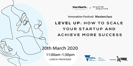 Level Up: How to scale your startup and achieve more success tickets