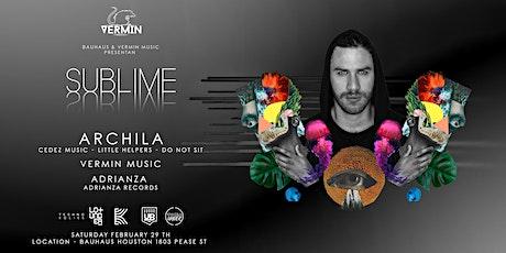 Vermin Music & Bauhaus Present ARCHILA tickets
