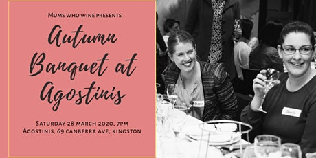 Autumn Banquet at Agostinis tickets