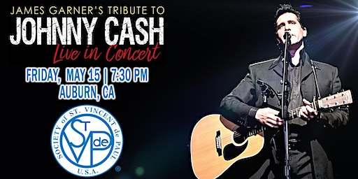 Johnny Cash Tribute by James Garner:   A Fundraiser to Help Our Neighbors in Need