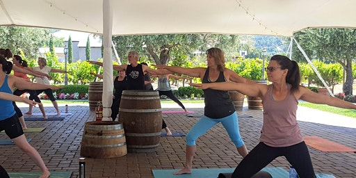 Yoga in the Vines ® at Guglielmo Winery